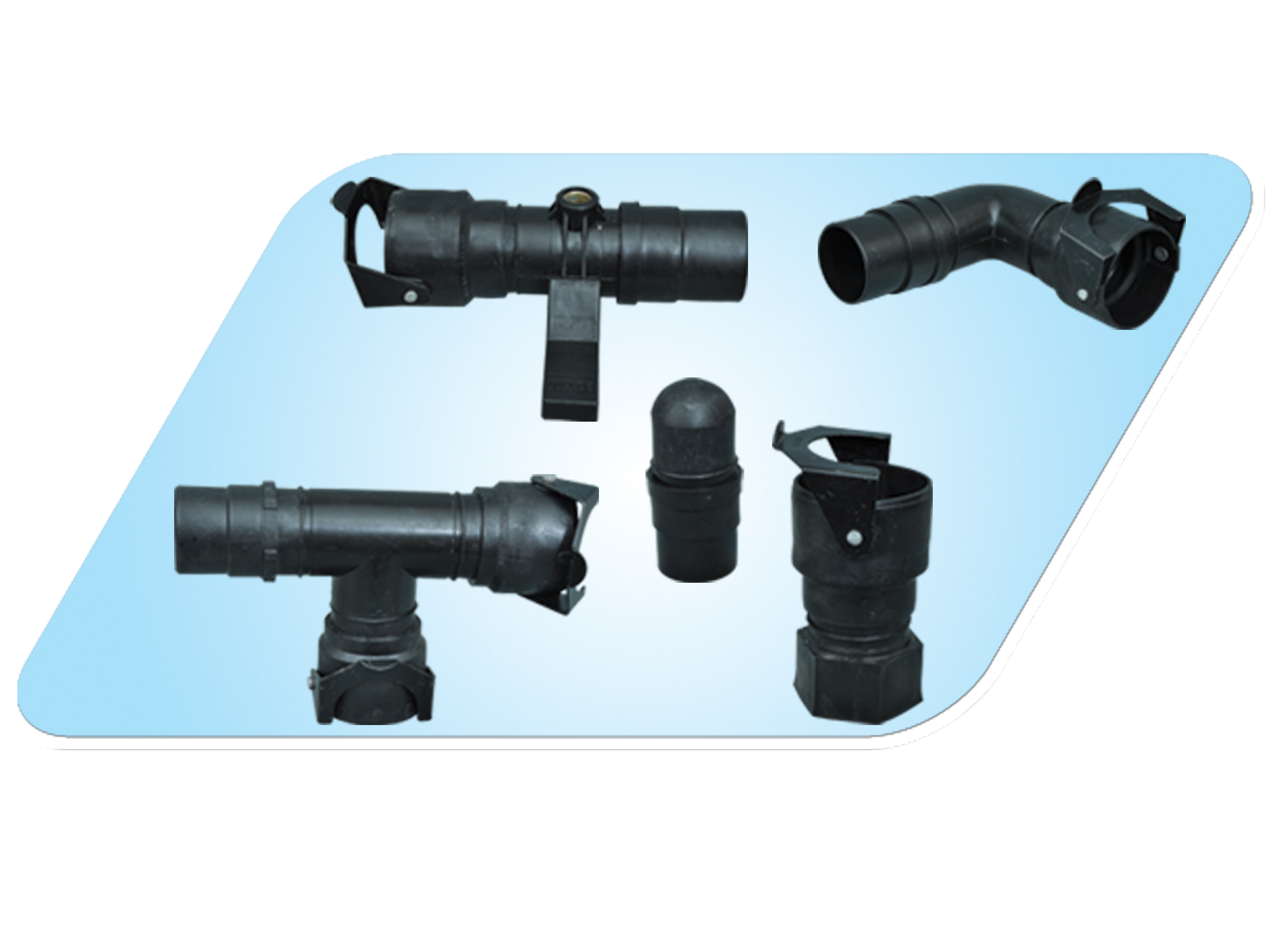 QAC HDPE ( Sprinkler ) Fittings